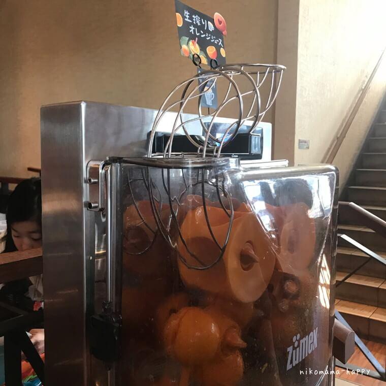 オーシャンテーブルのオレンジ絞り器
