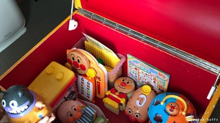 アンパンマンルームにあるおもちゃ